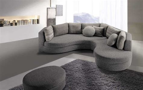divani angolari tondi divano angolare curvo idee per il design della casa