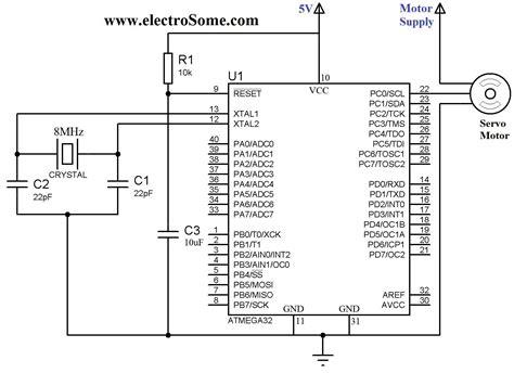servo motor wiring diagram how to wire a servo motor