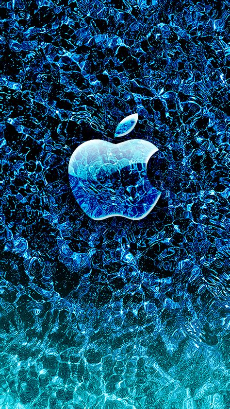 wallpaper of apple mobile ice apple iphone wallpaper