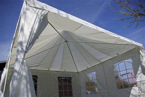 pavillon 4x4 wasserdicht hochwertiges partyzelt pavillon festzelt 4x4 m creme dach