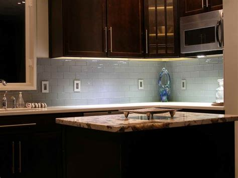 kitchen gray subway tile backsplash mosaic tile