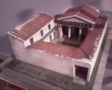 greek house pin ancient greek house on pinterest