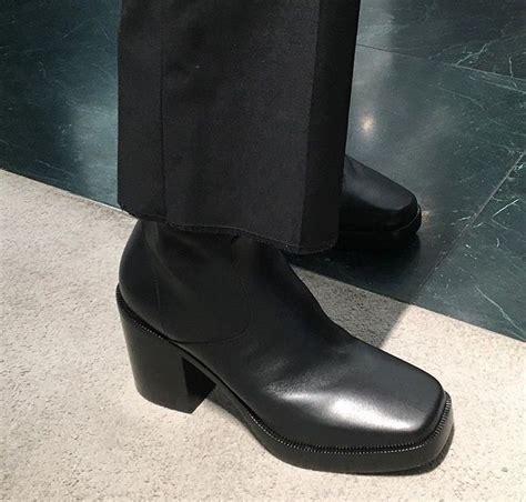 balenciaga boots mens balenciaga mens platform boot dress