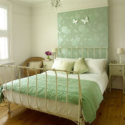 green bedroom feature wall master bedroom ideas ideal home