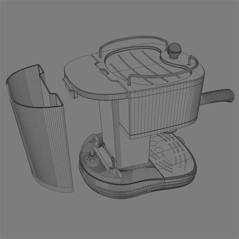 Delonghi Coffe Maker Eco310 W 3d espresso coffee machine delonghi