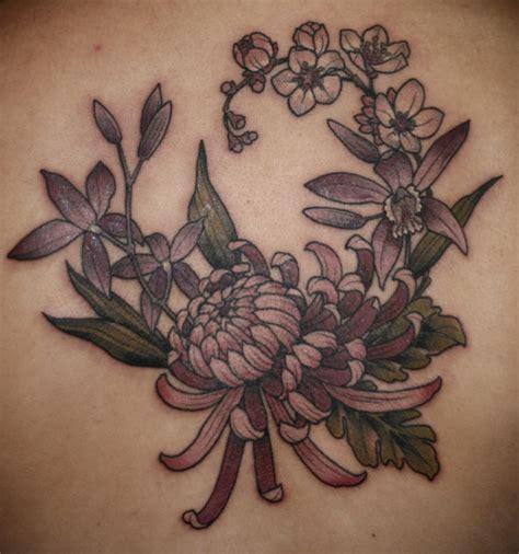 flower tattoo tumblr orchid flower