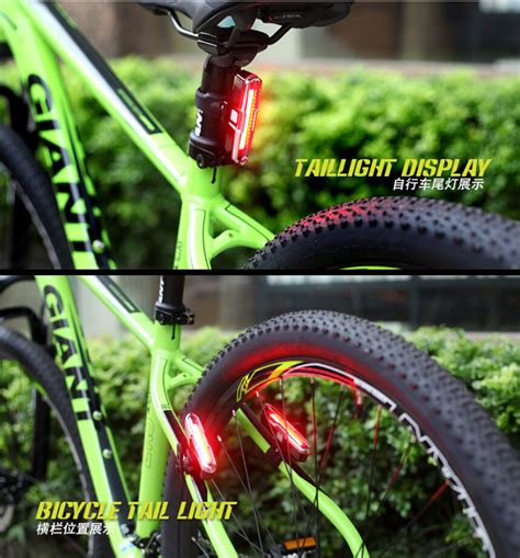Lu Belakang Sepeda Bicycle Taillight lu sepeda led taillight dual color blue jakartanotebook