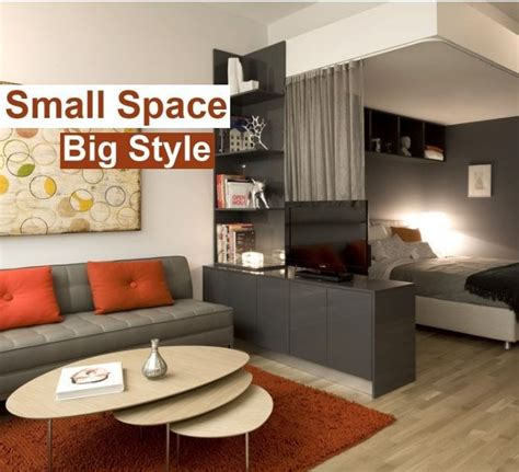 How To Decorate A 1 Bedroom Apartment small space contemporary interior design ideas
