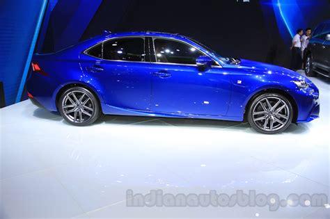 blue lexus 2015 2016 lexus is 200t 2015 chengdu motor show