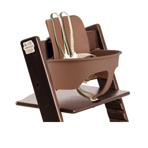 tuigje stokke stoel bevestigen stokke tripp trapp high chair walnut brown