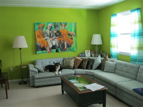 green colored rooms how can color schemes alter a perspective of a property