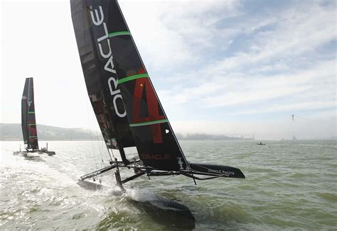 oracle racing boat oracle racing to help build expensive america s cup boat