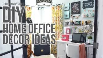 diy office decor craft room home office tour 3 easy diy office decor