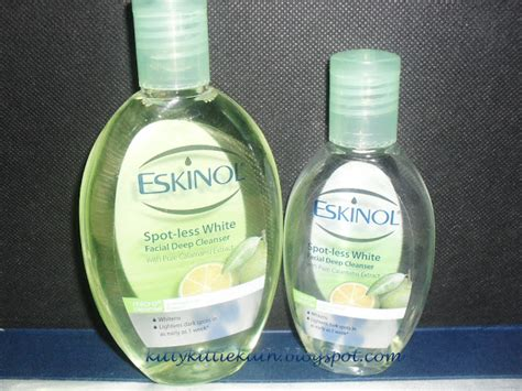 Toner Eskinol product review eskinol spot less white cleanser with calamansi extracts dear