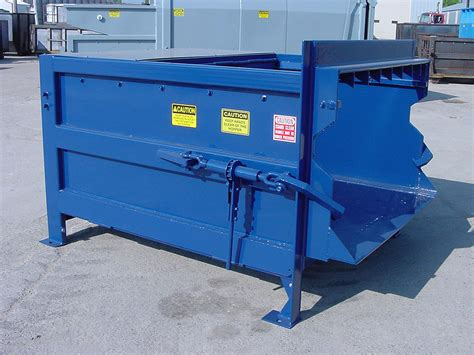 garbage compactor waste compactors for retail distribution manufacturing