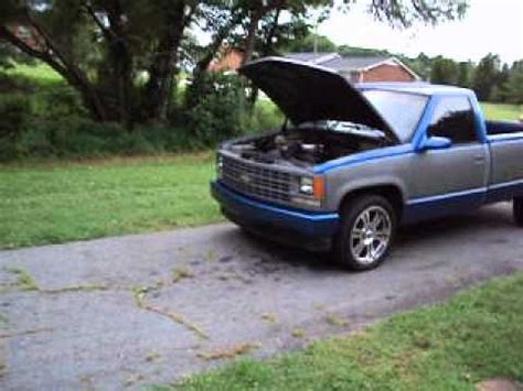bed of my chevy my 1989 chevy 1500 long bed fixing back up youtube