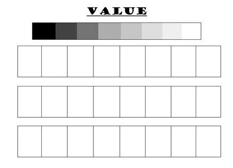 best value sheets shading techniques worksheet humorholics