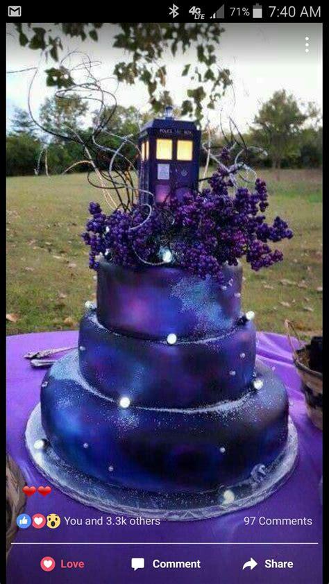 beautiful tardis galaxy cake birthday ideas galaxy cake tardis and cake