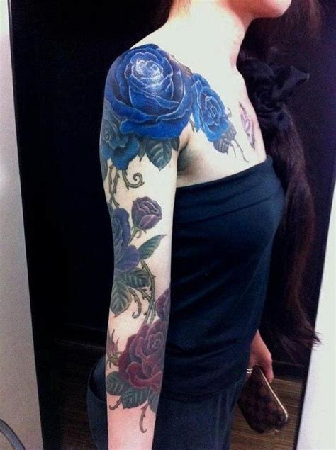 blue rose tattoo meaning 1000 ideas about blue tattoos on