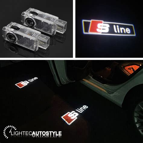 Audi A4 Lights by Audi S Line Led Car Door Logo Projector Puddle Lights A1