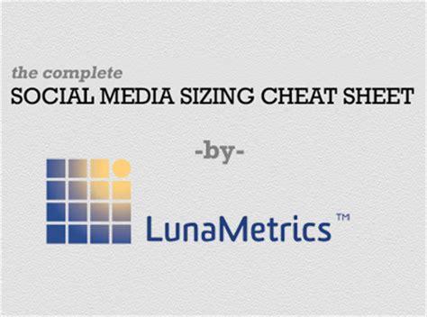 infografia tamaño imagenes redes sociales infograf 237 a el tama 241 o correcto de im 225 genes de todas las