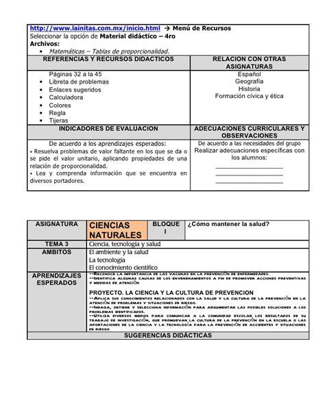 planeaciones gratis bloque 4 tercer grado planeaciones lainitas 2016 2017 tercer grado