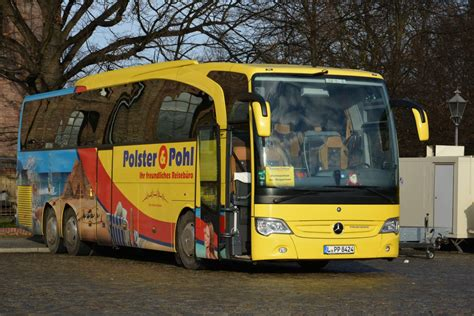 polster und pohl l pp 8424 polster pohl mercedes travego steht am