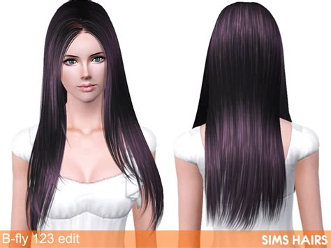 fly sims 121 af hairstyle retextured by sims hairs for sims 3 b fly sims 123 af hairstyle retexture by sims hairs