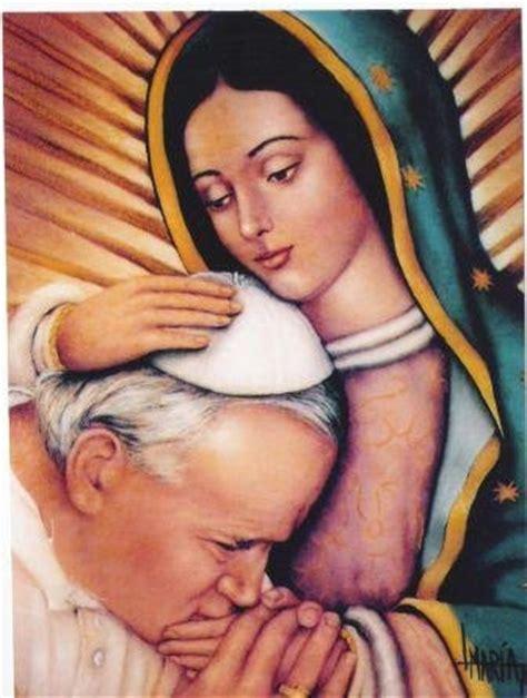 imagenes virgen de guadalupe con el papa juan pablo segundo y la virgen de guadalupe y la de fatima