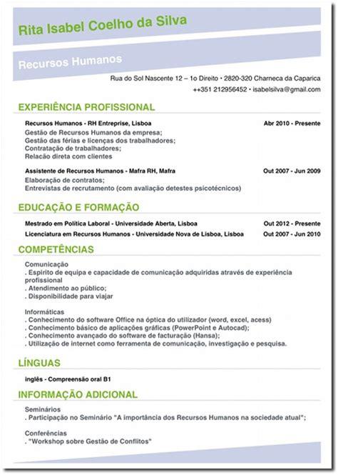 Letter Of Agreement Em Portugues 12 Golden Check List For An Efficient Cv Resume