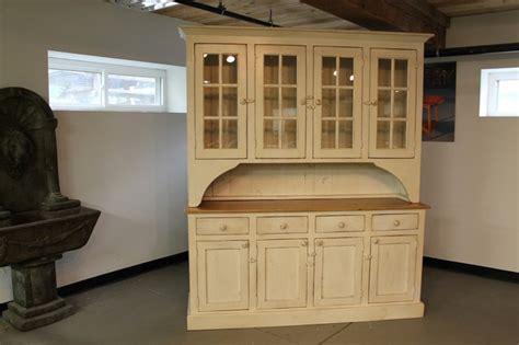 buttermilk farmhouse hutch from reclaimed wood farmhouse