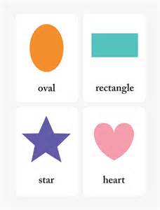 printable shapes flash cards for preschool learning mr