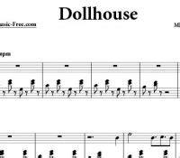 dollhouse chords jarrod radnich of the caribbean sheet