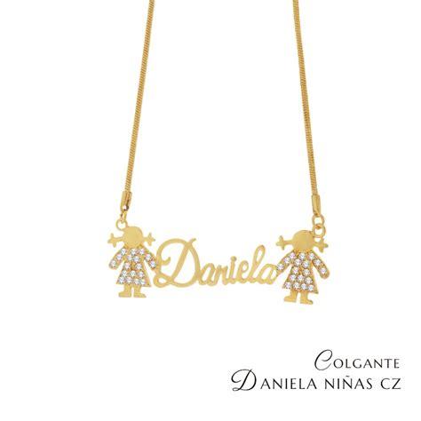 cadenas con nombre oro cadenas con tu nombre oro laminado de 14 kilates