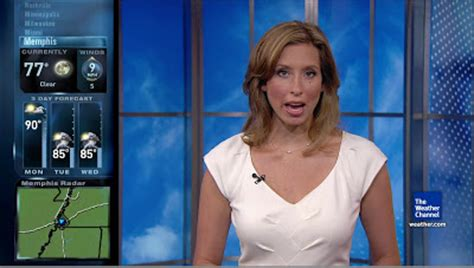 stephanie abrams is white hot weatherbabes news babes the weather channel s weather babe stephanie