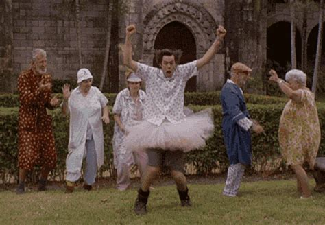 Ace Ventura Happy Dance GIF   Find & Share on GIPHY