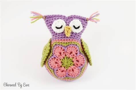 crochet owl motif pattern free 17 best images about its a hoot owls owls and more owls