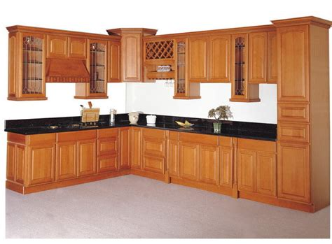 Solid Wood Kitchen Cabinet China Solid Wood Kitchen Cabinet Kc 007 China Kitchen Cabinet