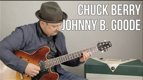 guitar tutorial johnny b goode chuck berry johnny b goode how to play on guitar