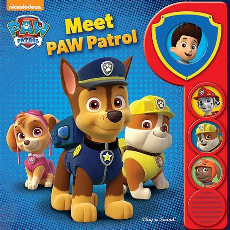 Image   PAW Patrol Nickelodeon Meet PAW Patrol Book Cover