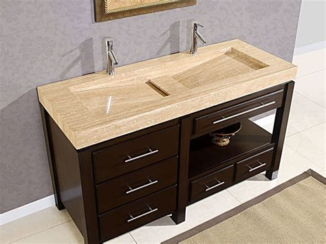 one sink bathroom vanity one sink two faucets vanity