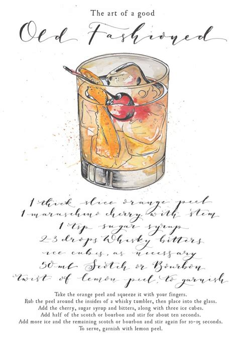 fashioned cocktail illustration 1231 best drinks illustrations images on