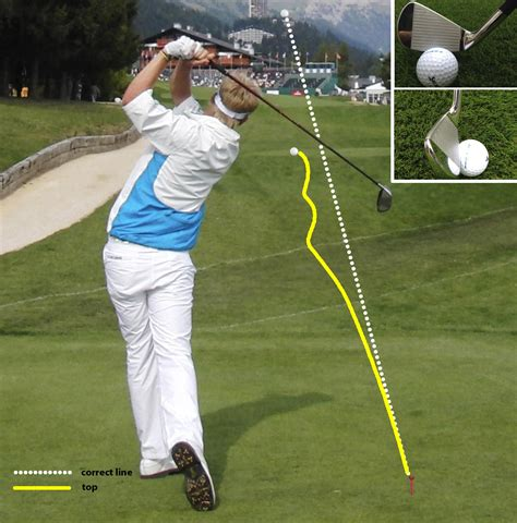 in to in golf swing golf swing tips 7 how to stop topping golfmagic