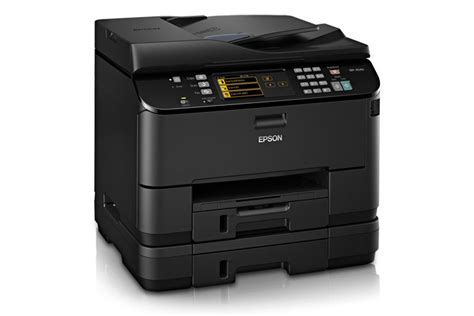 Printer All In One Epson Pro Workforce Wp 4590 Epson Workforce Pro Wp 4540 All In One Printer Inkjet Printers For Work Epson Us