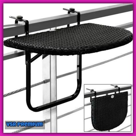 small foldable table rattan steel hanging patio terrace
