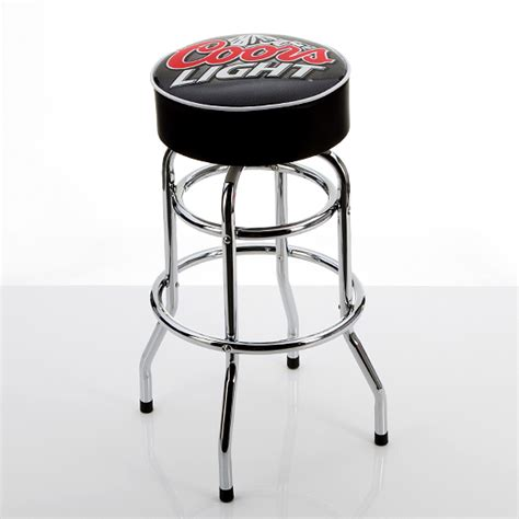 Coors Light Padded Bar Stool by Beverage Branded Padded Barstools