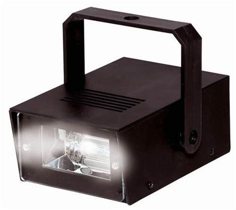 battery powered mini strobe light