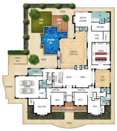 Floor Plans For Large Homes single storey home design plan the farmhouse by boyd