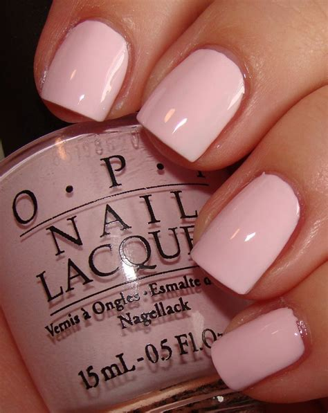 opi light pink colors baby pink nail by opi nails