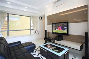 Best Home Interior Design In Singapore Making Your Wall Your Blank Canvas With Wallpaper Interior